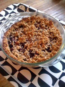 4 WIld Local Berry Coconut Crisp