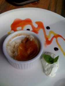 Vegan Creme Brulee from Wooden Monkey