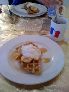 Cafe Eyelevel Waffles Nov 8